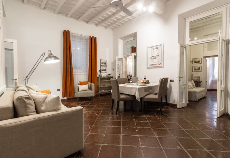 Alla Fontana di Borgo Pio, Roma, Apart Daire, 2 Yatak Odası, Oturma Alanı