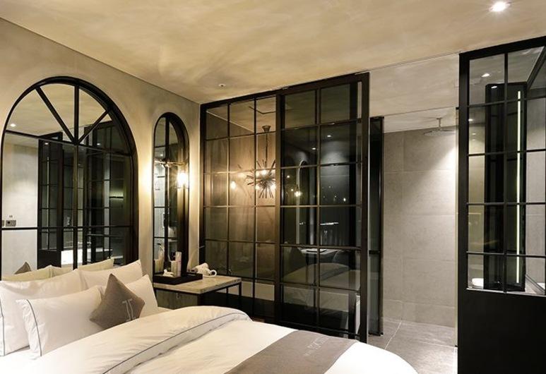 Ischia Hotel, Yongin, Standard Double Room, Guest Room