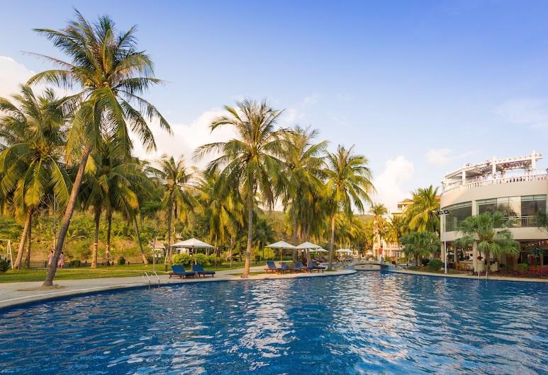 三亞金棕櫚度假酒店, 三亞市, 室外游泳池