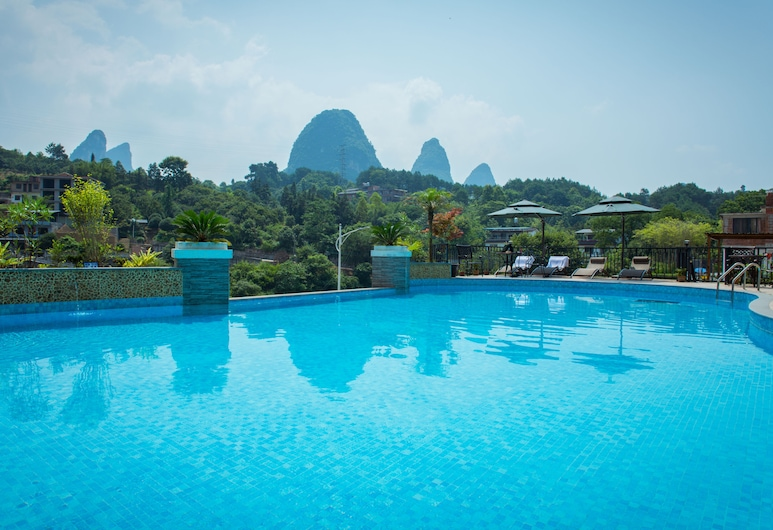 The Bamboo Leaf Yangshuo, Guilin, Outdoor Pool