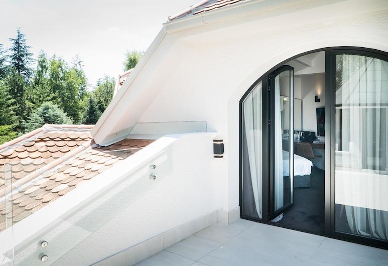 Best Western Premier Natalija Residence, Belgrade, Superior Room, 1 King Bed, Non Smoking, Jetted Tub, Terrace/Patio