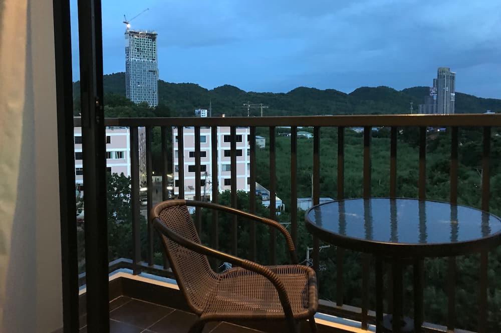 Kamar, pemandangan kebun - Balkon