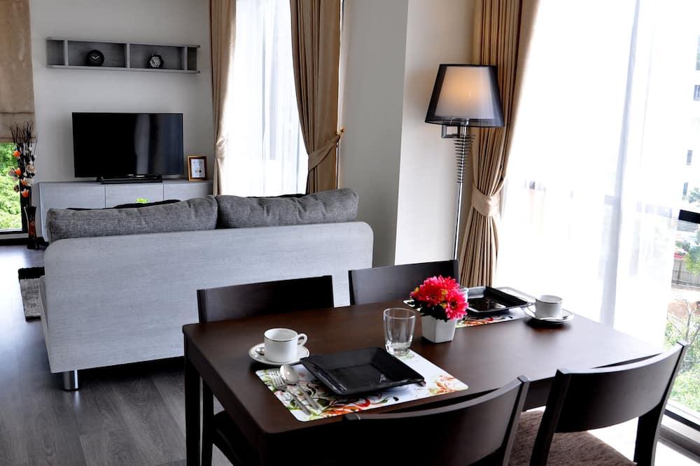 Kamar Double Deluks, 1 kamar tidur, pemandangan samudra - Area Keluarga