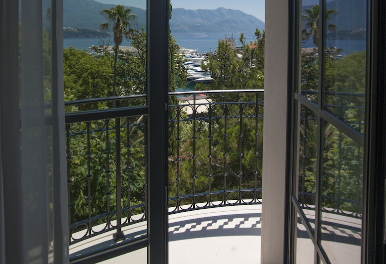Hotel Majestic, Budva, ห้องดับเบิลหรือทวิน, วิวทะเล, ลานระเบียง/นอกชาน