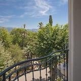 Superior-Doppel- oder -Zweibettzimmer, Balkon, Parkblick - Balkon