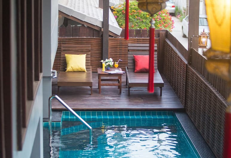 NightBazaar Inn Hotel, Chiang Mai, Piscine en plein air