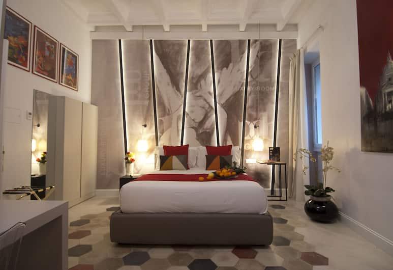 BDB Luxury Rooms Navona Angeli, Rom, Familieværelse, Værelse