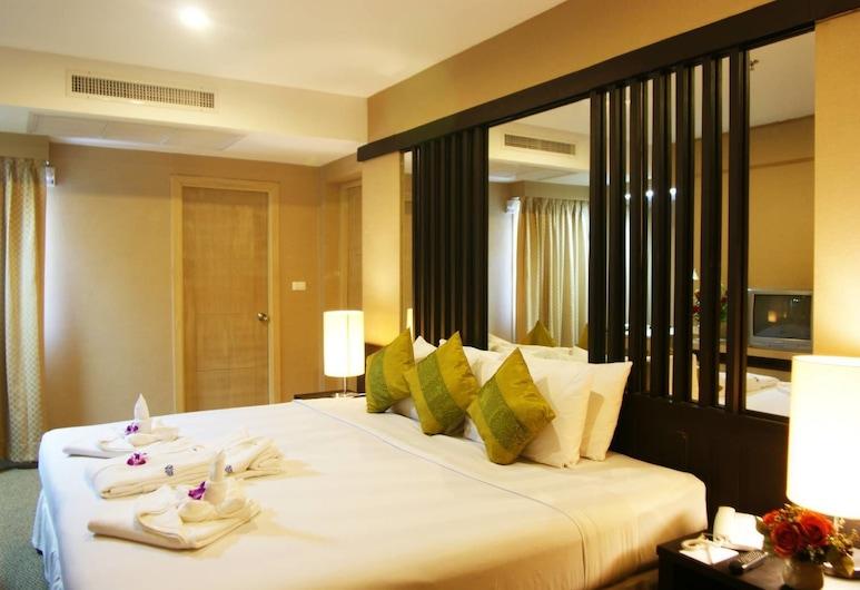 니란 그랜드 호텔, 방콕, 디럭스 더블룸, 객실