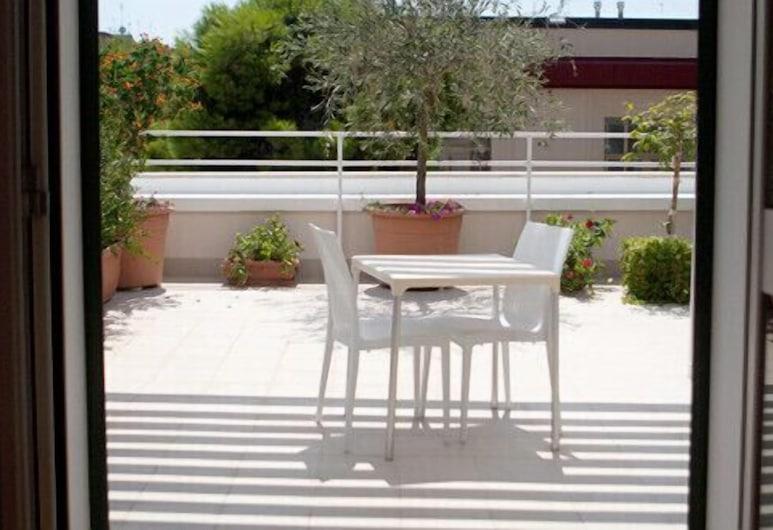 Boutique hotel Liddo, Barletta, Camera con letto matrimoniale o 2 letti singoli, terrazzo (5), Terrazza/Patio