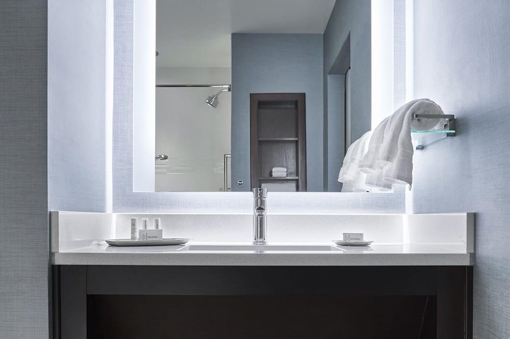 開放式客房, 1 張特大雙人床, 非吸煙房 - 浴室