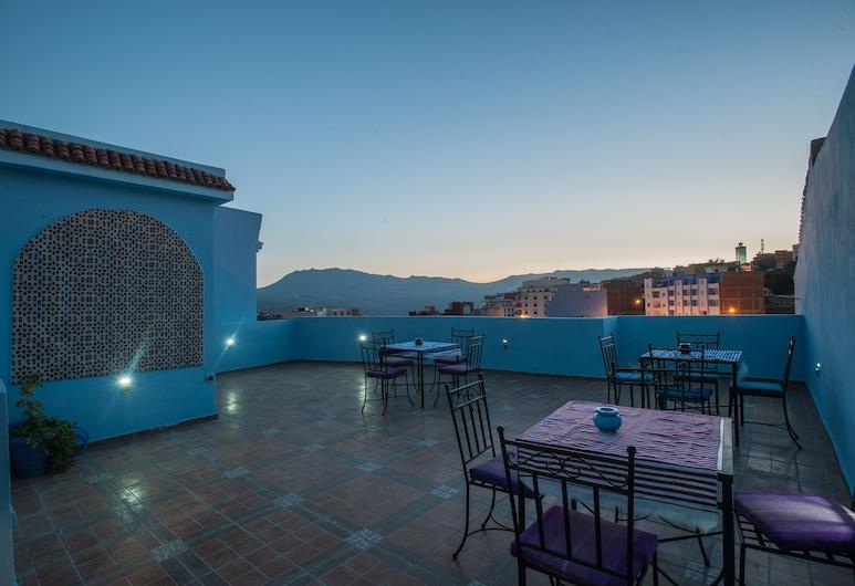 Puerta Azul, Chauen, Vista desde el hotel