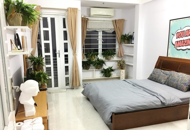 Supe Homestay Nguyen Van Trang, Hočiminovo mesto, Apartmán, Izba