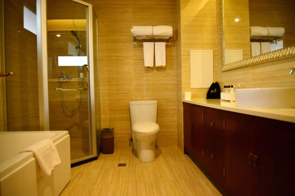 Дизайнерский двухместный номер с 2 односпальными кроватями - Ванная комната