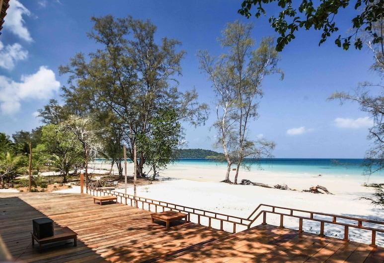 Nest Beach Club - Hostel, Koh Rong, Terraza o patio