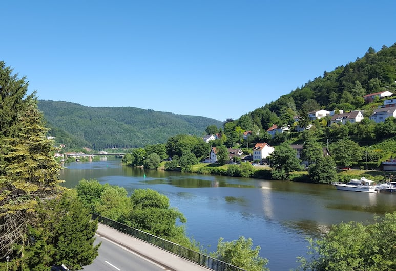 Hotel Neckarlux, Heidelberg, Blick vom Hotel