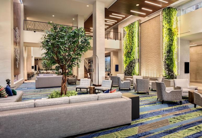Embassy Suites by Hilton Denton Convention Center, Denton, Prostor za sjedenje u predvorju