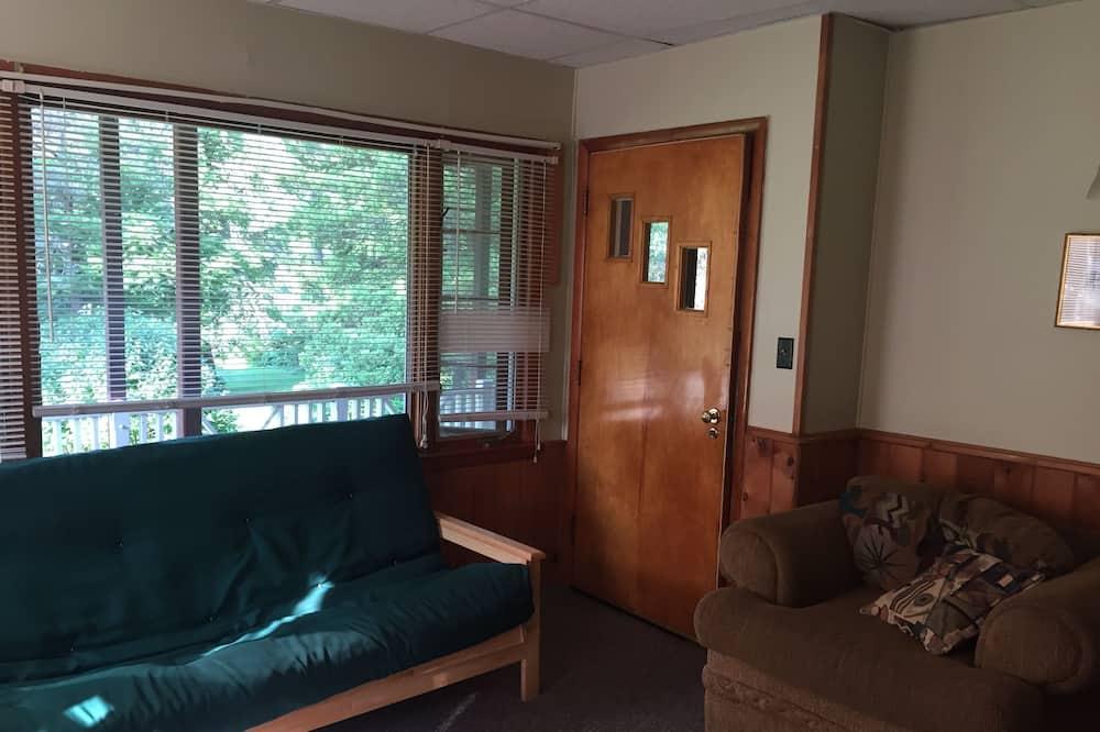 基本公寓, 2 間臥室, 廚房 - 客廳