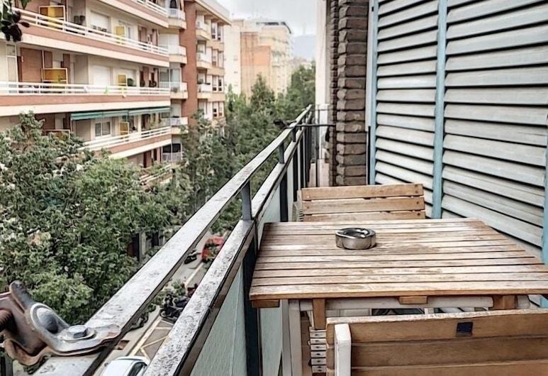 The White Flats Les Corts, Barcelone, Appartement Standard, 3 chambres, balcon, Balcon