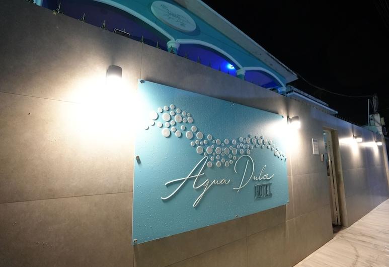 Agua Dulce, Boca Chica, Hotellets facade