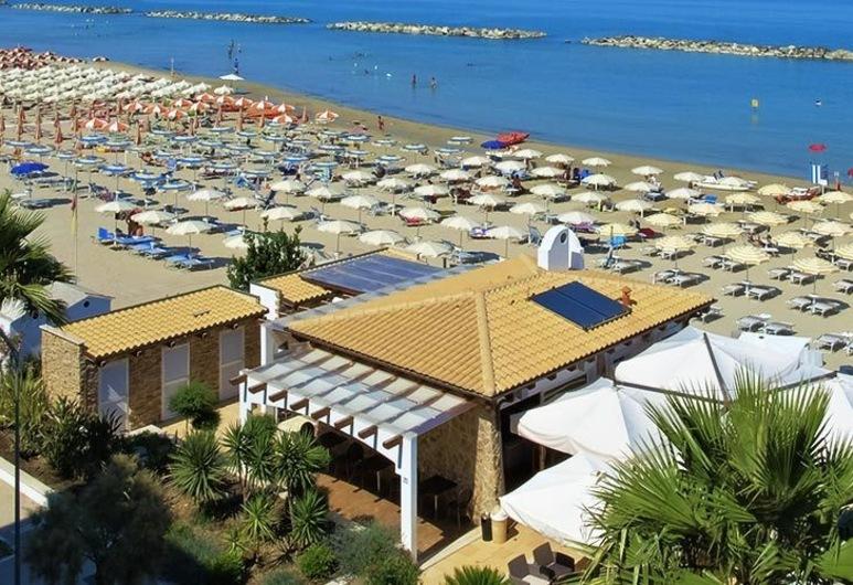 Hotel La Perla, Cupra Marittima, Plaża