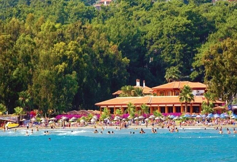Ayka Otel, Ula, Strand