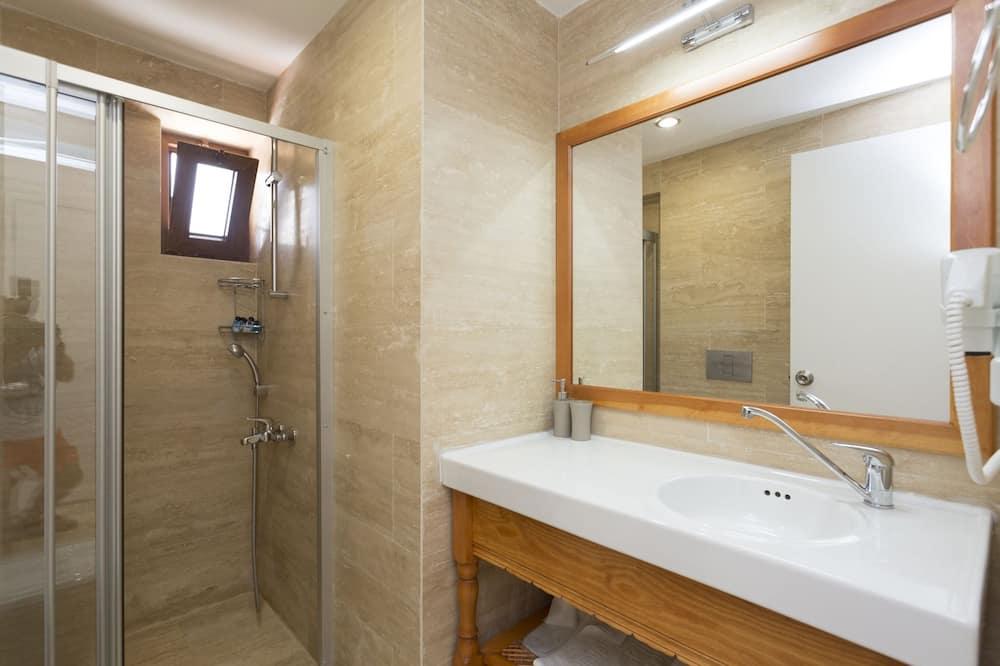 חדר סטנדרט יחיד - חדר רחצה