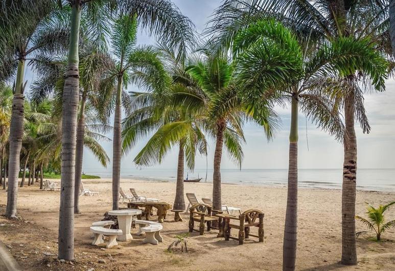The Beach Palace 2BR Luxury Beachfront, Cha-am, Udsigten fra overnatningsstedet