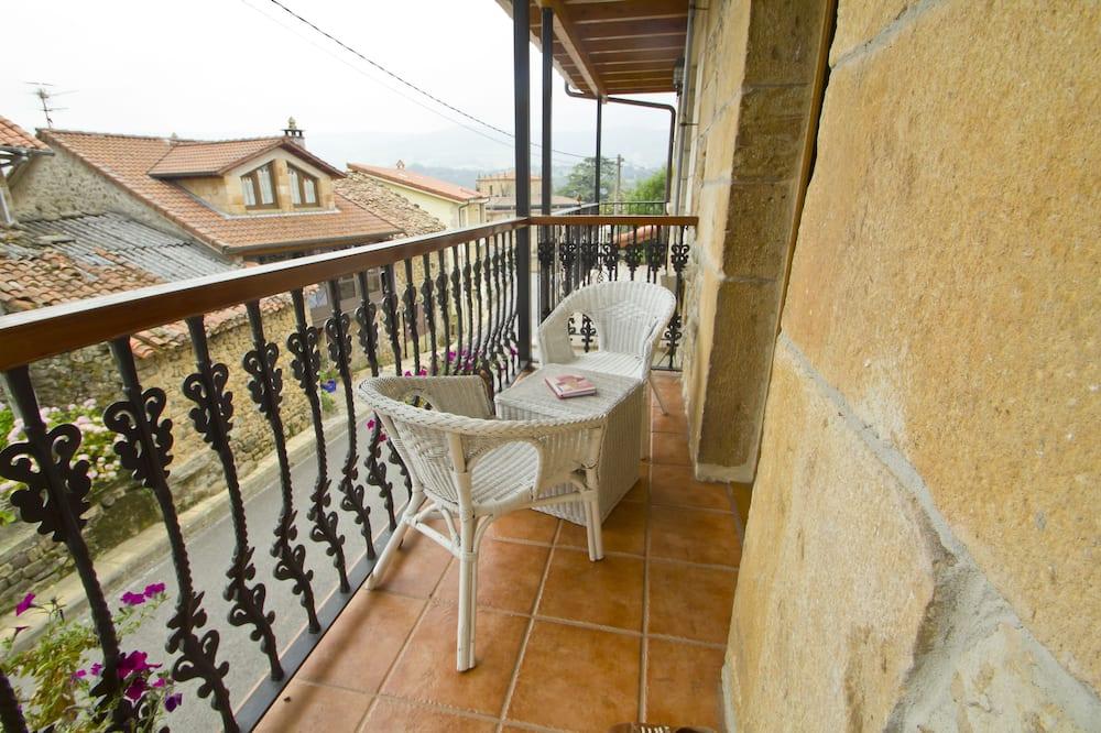 Двухместный номер с 1 двуспальной кроватью, балкон (La Mies) - Балкон