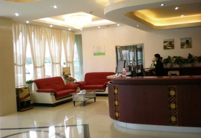 GreenTree Inn Yangzhou Jiangdu West Changjiang Road Liberty Park Business Hotel, Yangzhou, Lobby