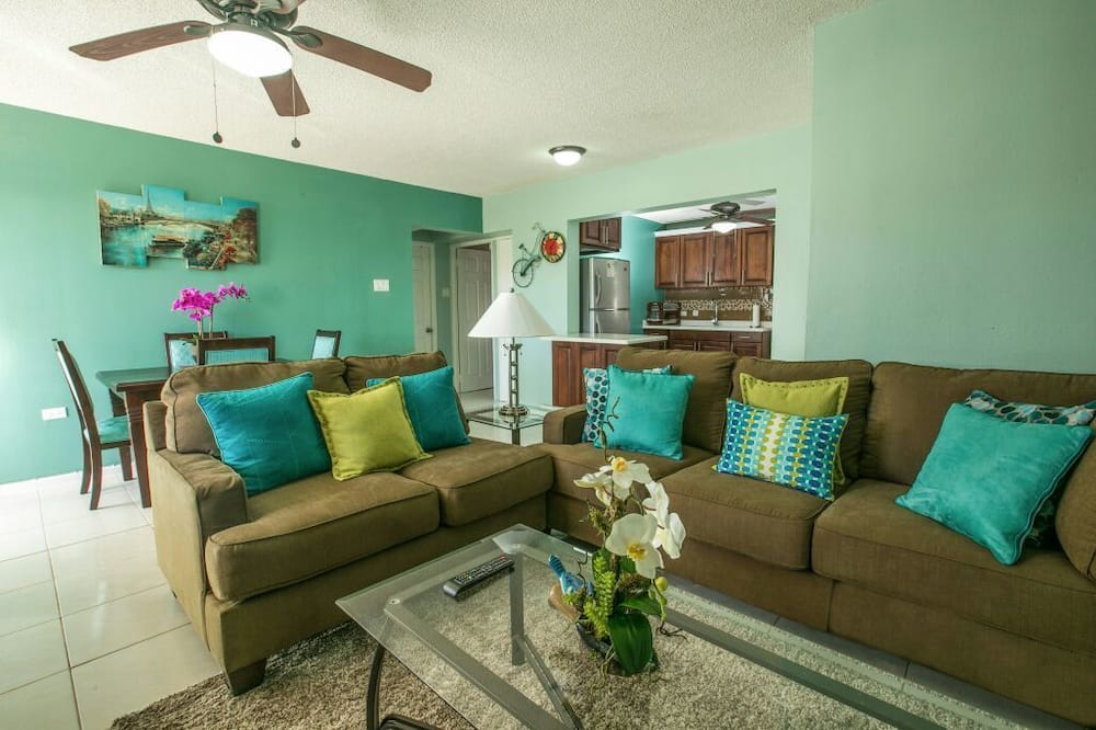 Luxusný apartmán, 2 spálne, 2 kúpeľne - Obývačka