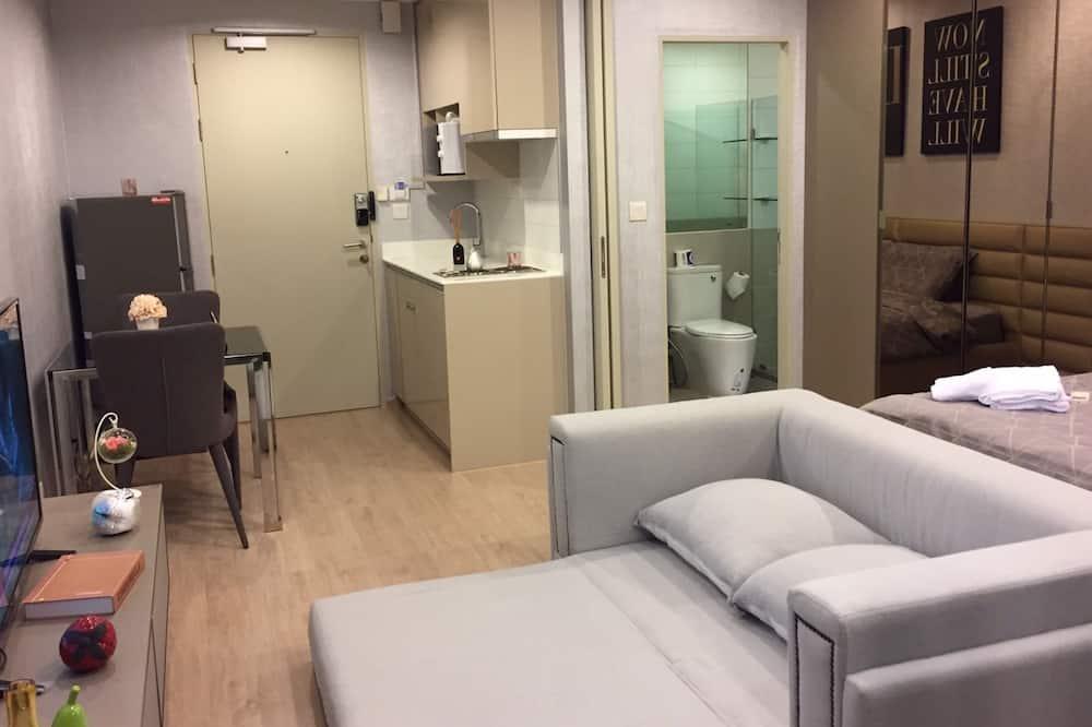 1 Bedroom Apartment - Oturma Alanı