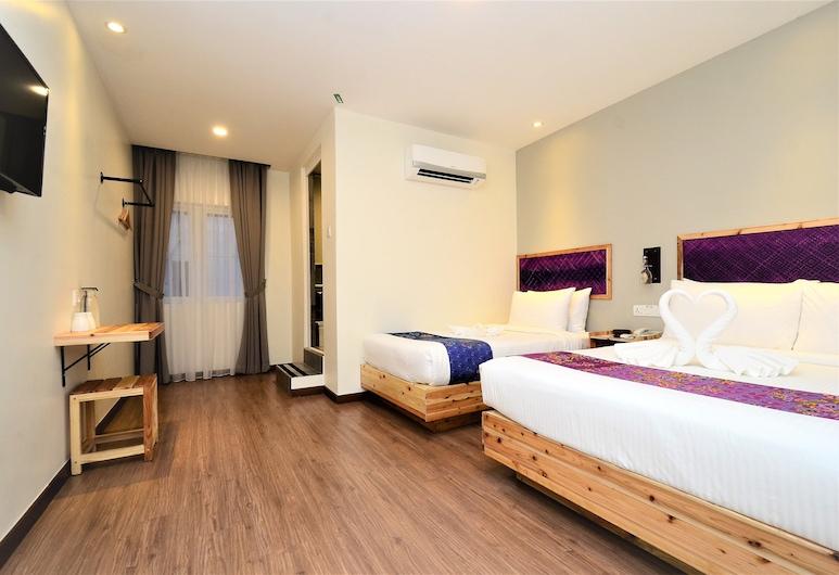 Artisan Eco Hotel, Petaling Jaya, Trivietis kambarys šeimai, Svečių kambarys