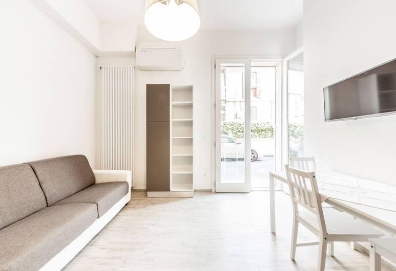 Appartamento Mascarella, Bologna, Deluxe appartement, Woonkamer