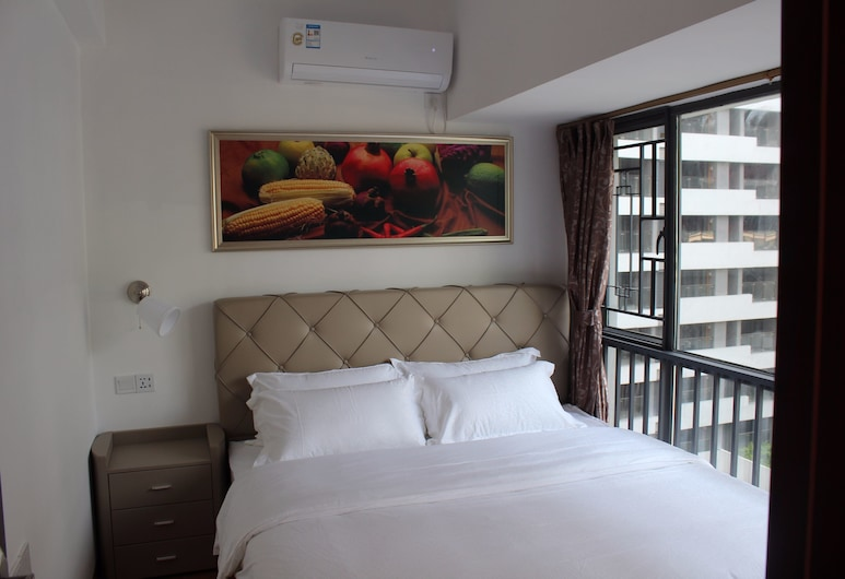 Yue Jia Apartment Shenzhen Bay Branch, Shenzhen, Executive Two-Bedroom Apartment , Guest Room