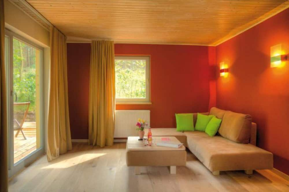 Eco Cottage, 2 Bedrooms, Terrace - Woonkamer