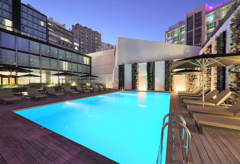 Iberostar Selection Lisboa, Lisabon, Dvojlôžková izba, výhľad na bazén, Výhľad z hosťovskej izby