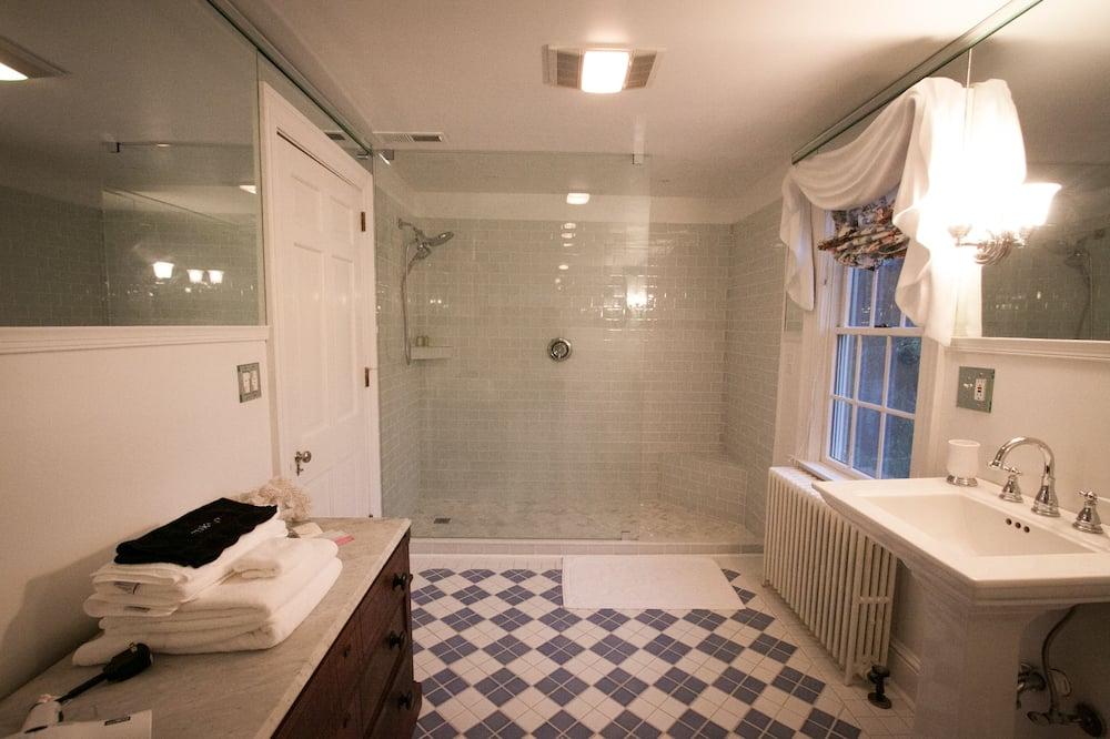 Habitación Deluxe, 1 cama King size, chimenea - Baño