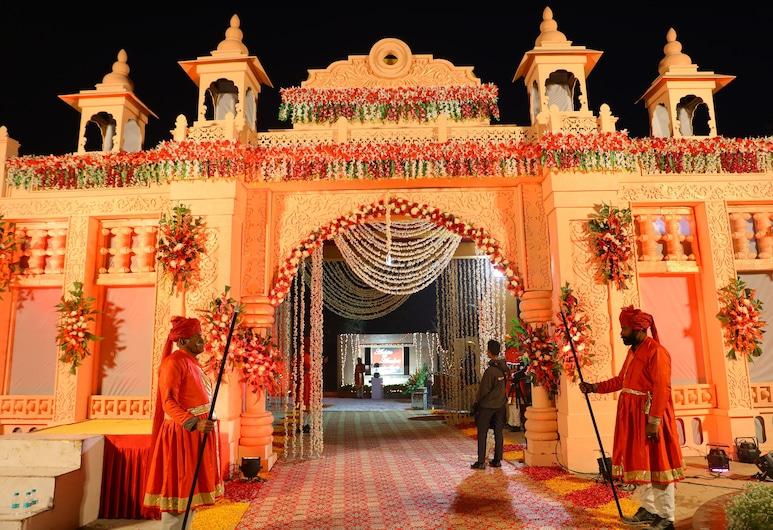 Hotel Kasturi Orchid, Jodhpur, Tuin
