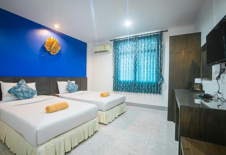 Phang Nga Guesthouse, Phang Nga, Standard-Zweibettzimmer, Zimmer