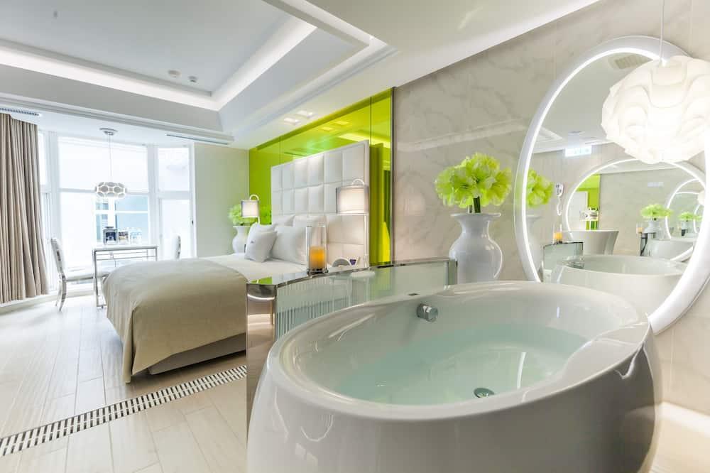 Habitación Deluxe doble, 1 cama doble - Bañera de hidromasaje privada