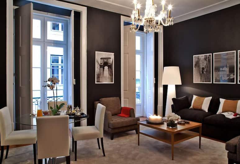 Lisbon Five Stars Correeiros, Lisbon, Superior Apartment, 2 Bedrooms, Living Room