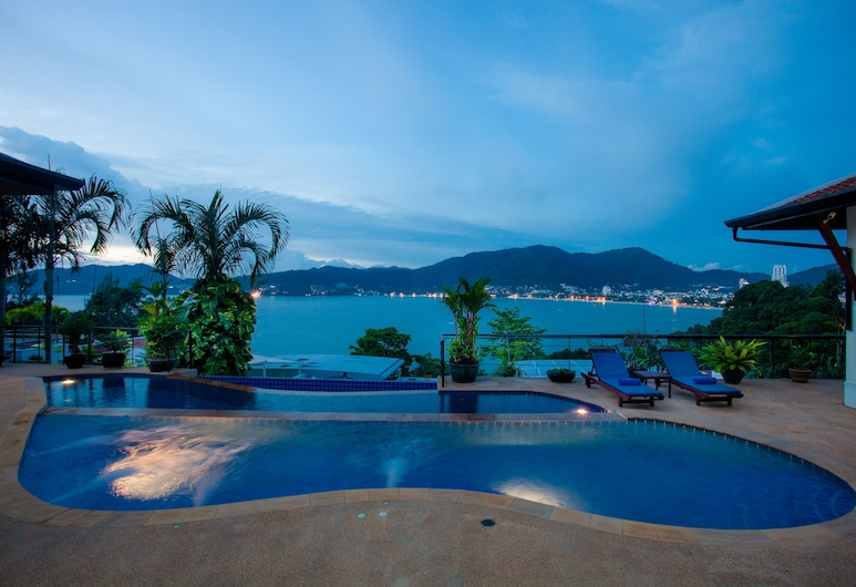 Adent View Villa, Patong, Villa 5 Bedrooms , Terrasse/Patio