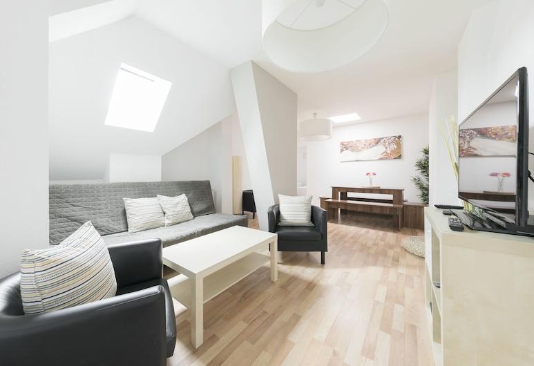 Primeflats - Apartments near Prenzlauer Berg, Berlin, City-Apartment, 2Schlafzimmer (22), Wohnbereich