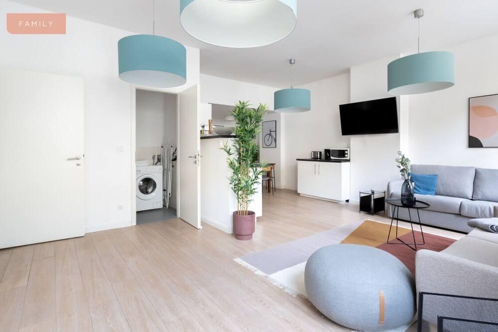 Apartament rodzinny typu Suite - Powierzchnia mieszkalna