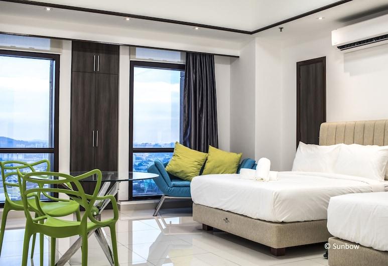 Sunbow Suites @ Times Square Kuala Lumpur, Kuala Lumpur, Premier Suite, Tower, Guest Room