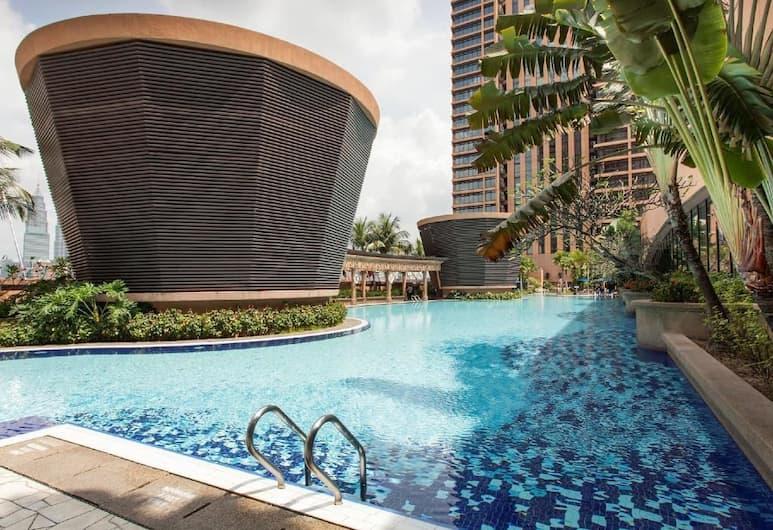 吉隆坡時代廣場太陽虹套房飯店, 吉隆坡, 室外游泳池
