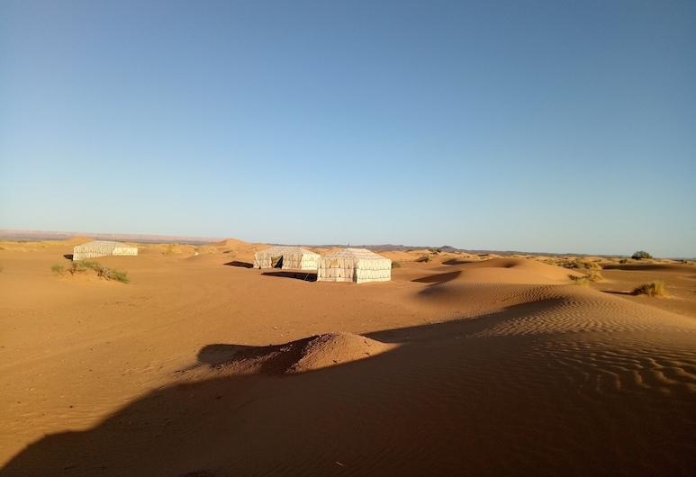 Night Desert Camp, Taouz, Overnatningsstedets område