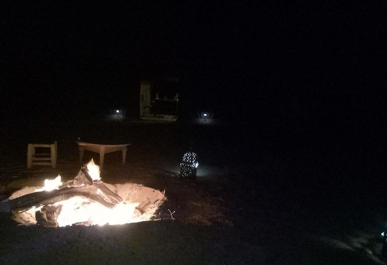 沙漠之夜營地酒店, 塔歐斯, 陽台