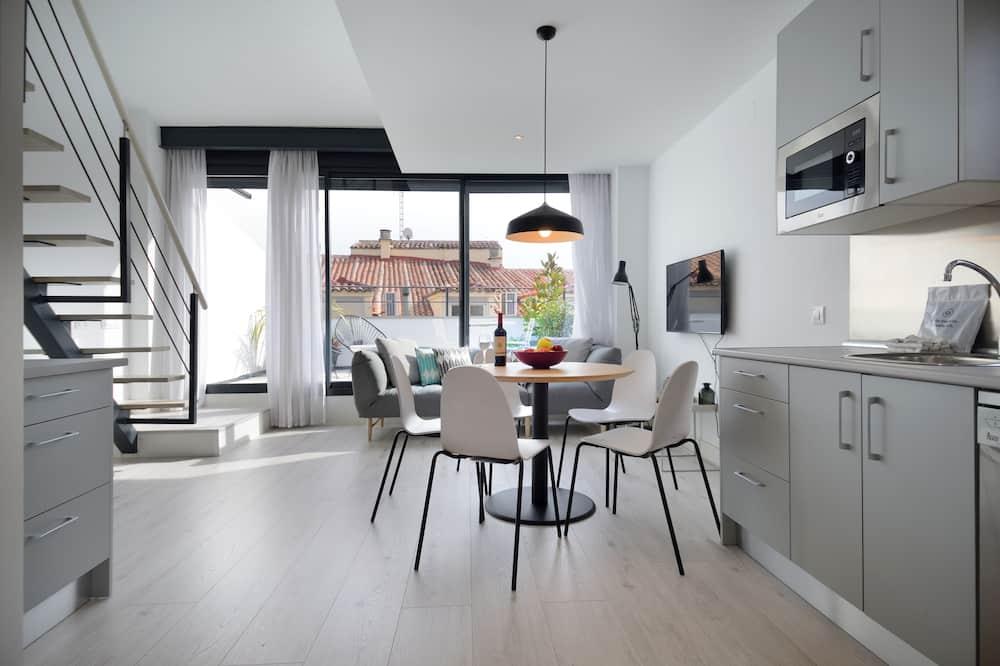Улучшенные апартаменты - Гостиная