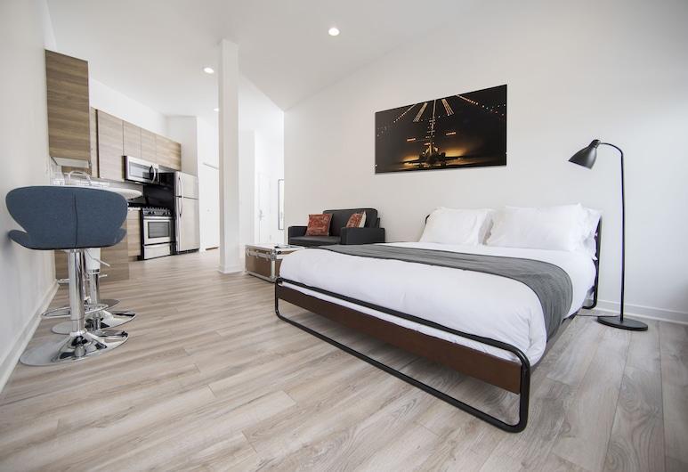 Ginosi 747 Apartel, Chicago, Studio Suite, Room